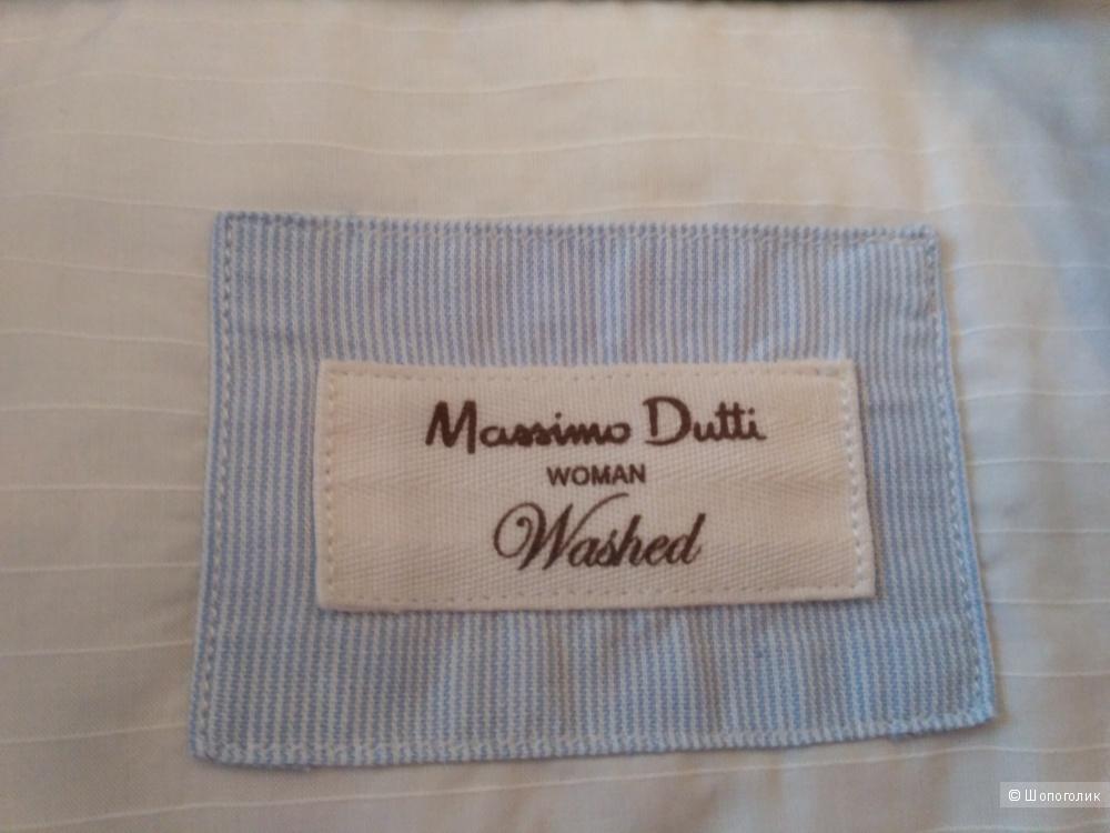 Рубашка женская из 100% хлопка Massimo Dutti, p-p 50.52