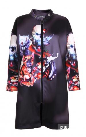 Пальто с принтом Style Track, размер S
