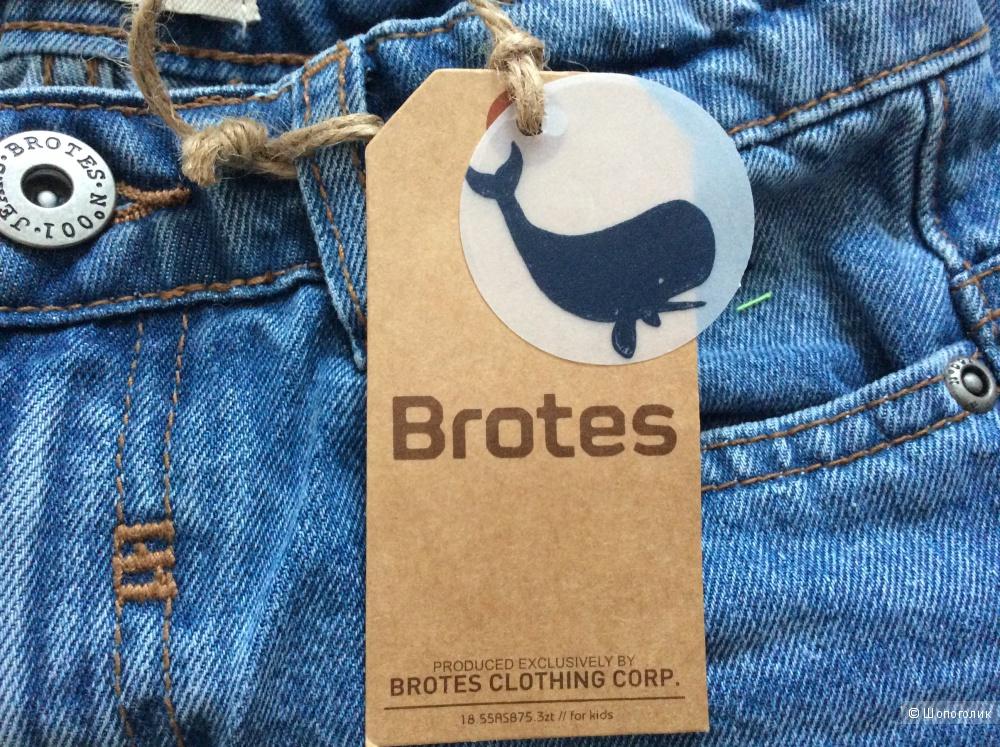 Джинсовые шорты на мальчика Brotes р.7-8