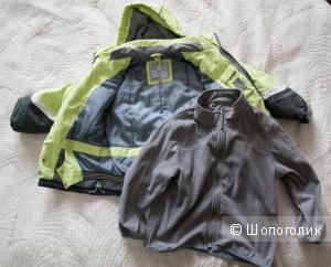 Зимняя куртка Huppa Tec 122р-р