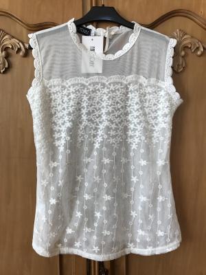 Блузка с кружевом Fancyqube размер 46-48
