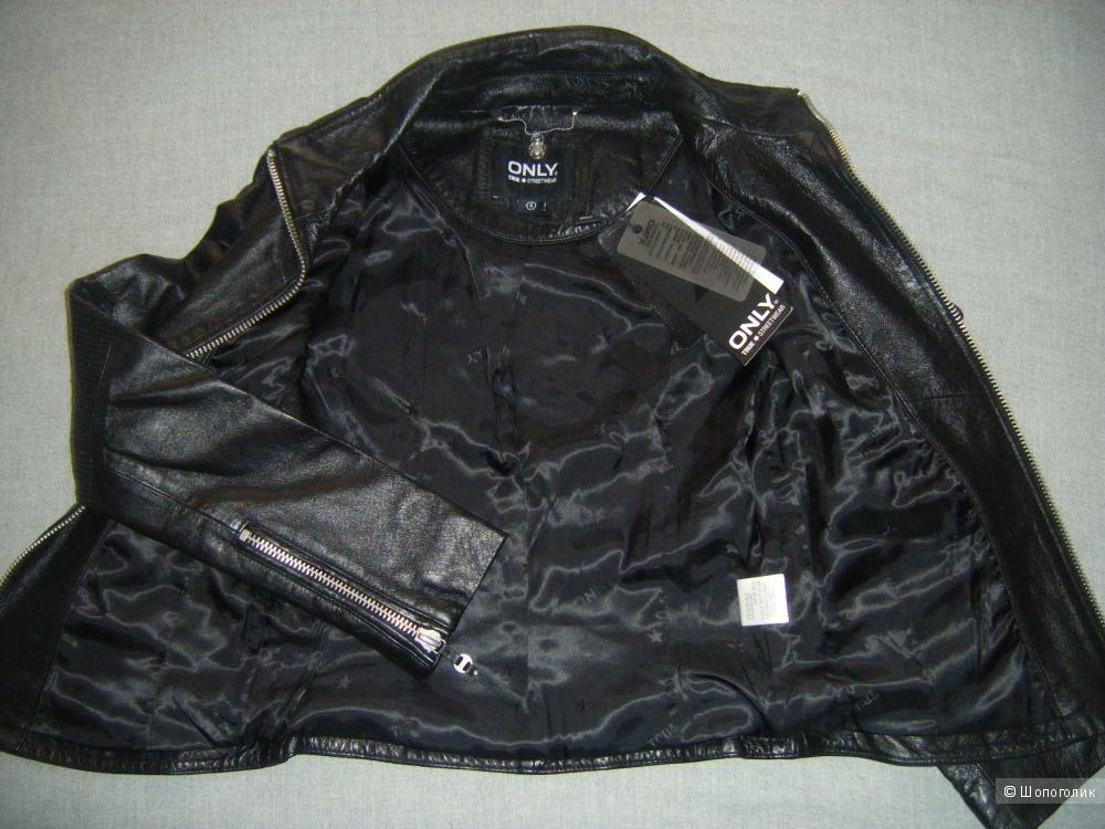 Куртка кожаная, ONLY,S