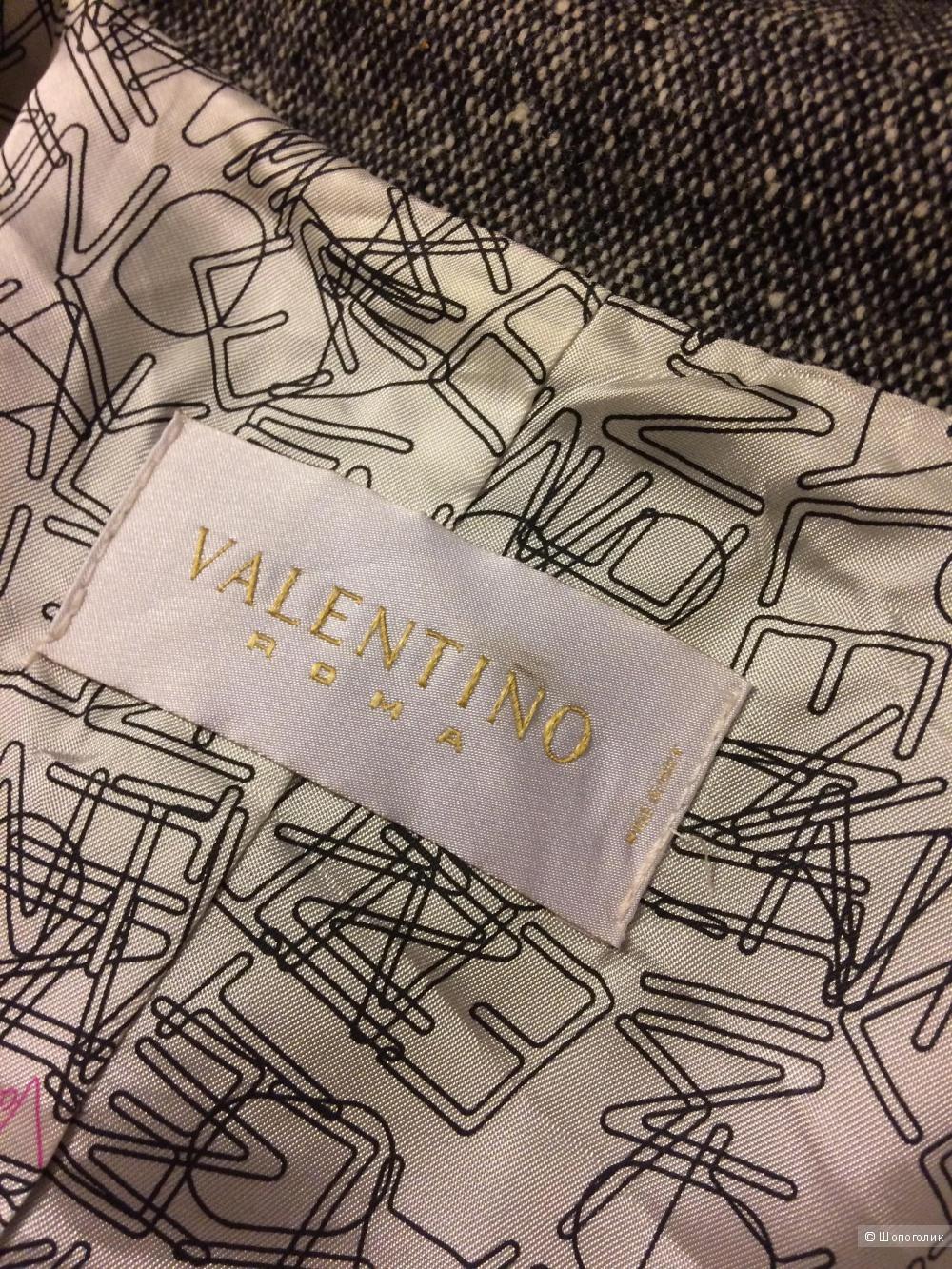 Твидовый жакет-косуха Valentino Roma 46-48