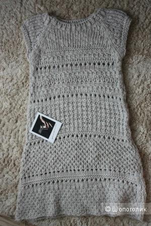 Платье вязанное Zara, размер М