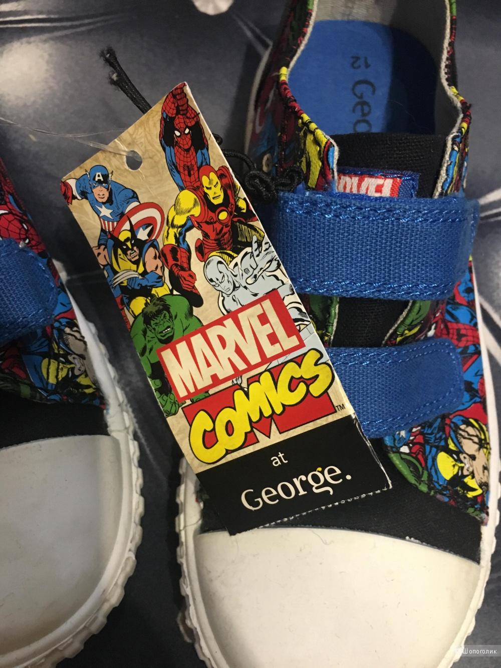 Детские кеды Marvel Comics, размер 31