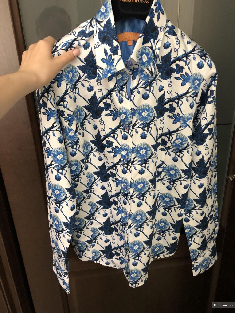 Рубашка Claudio LuglI 44/46 рос., 38 евр