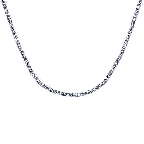 Шнур серебрянный SOKOLOV 55 см