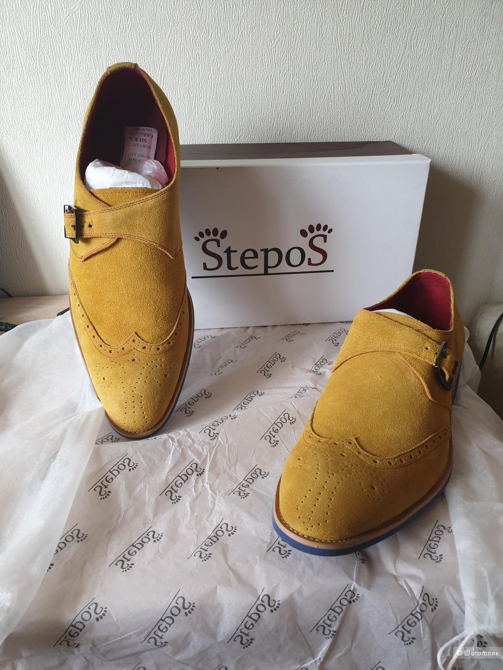 Ботинки фирма Stepos 43 размер