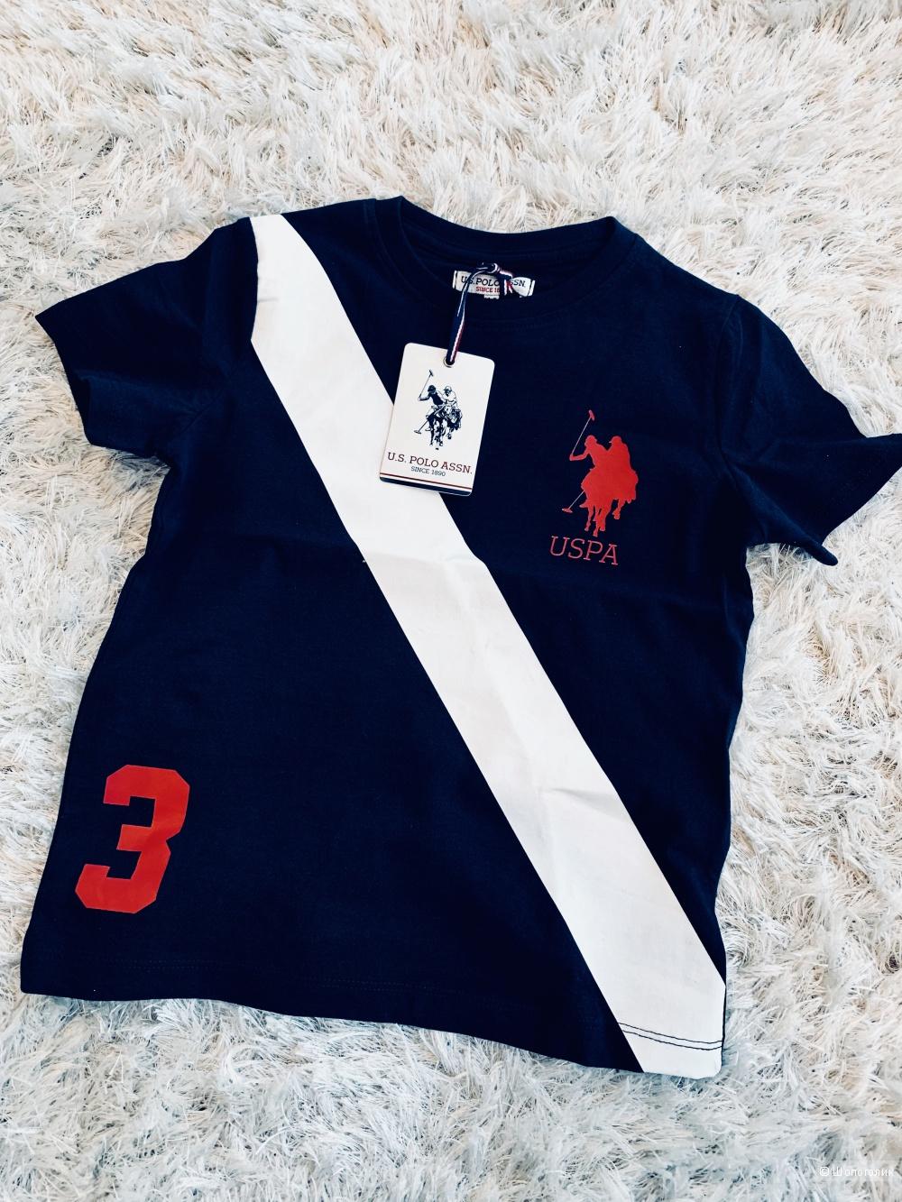 Футболка U.S Polo Assn /р-р: 4-5 лет/