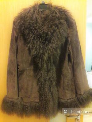 Замшевая куртка Betty Barclay 48 размера