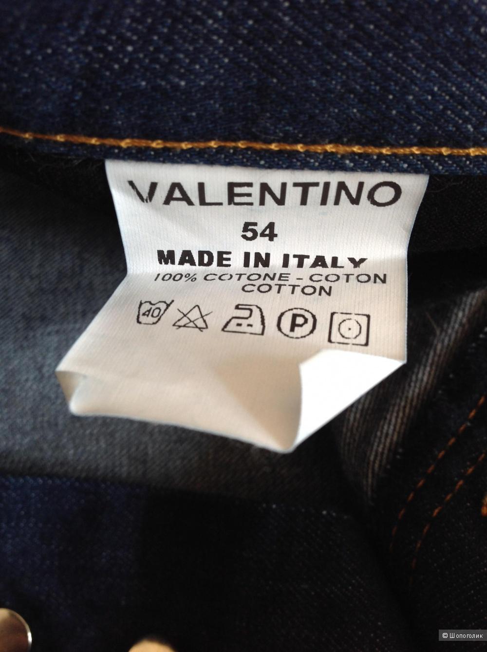 Джинсы Valentino Roma, размер 54, на 52-54-56