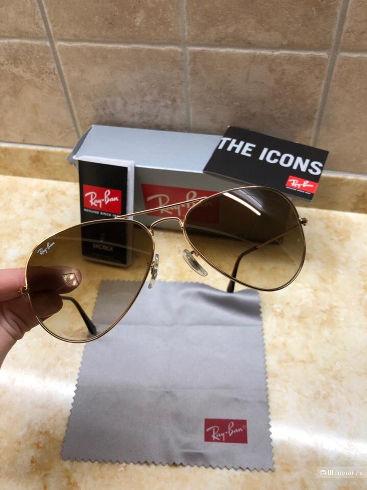 Солнцезащитные очки Ray-Ban авиаторы  RB 3025 003/3F