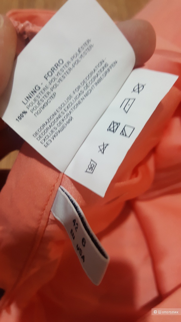 Armani Jeans плиссированная юбка 42-44 (42 итальянский)