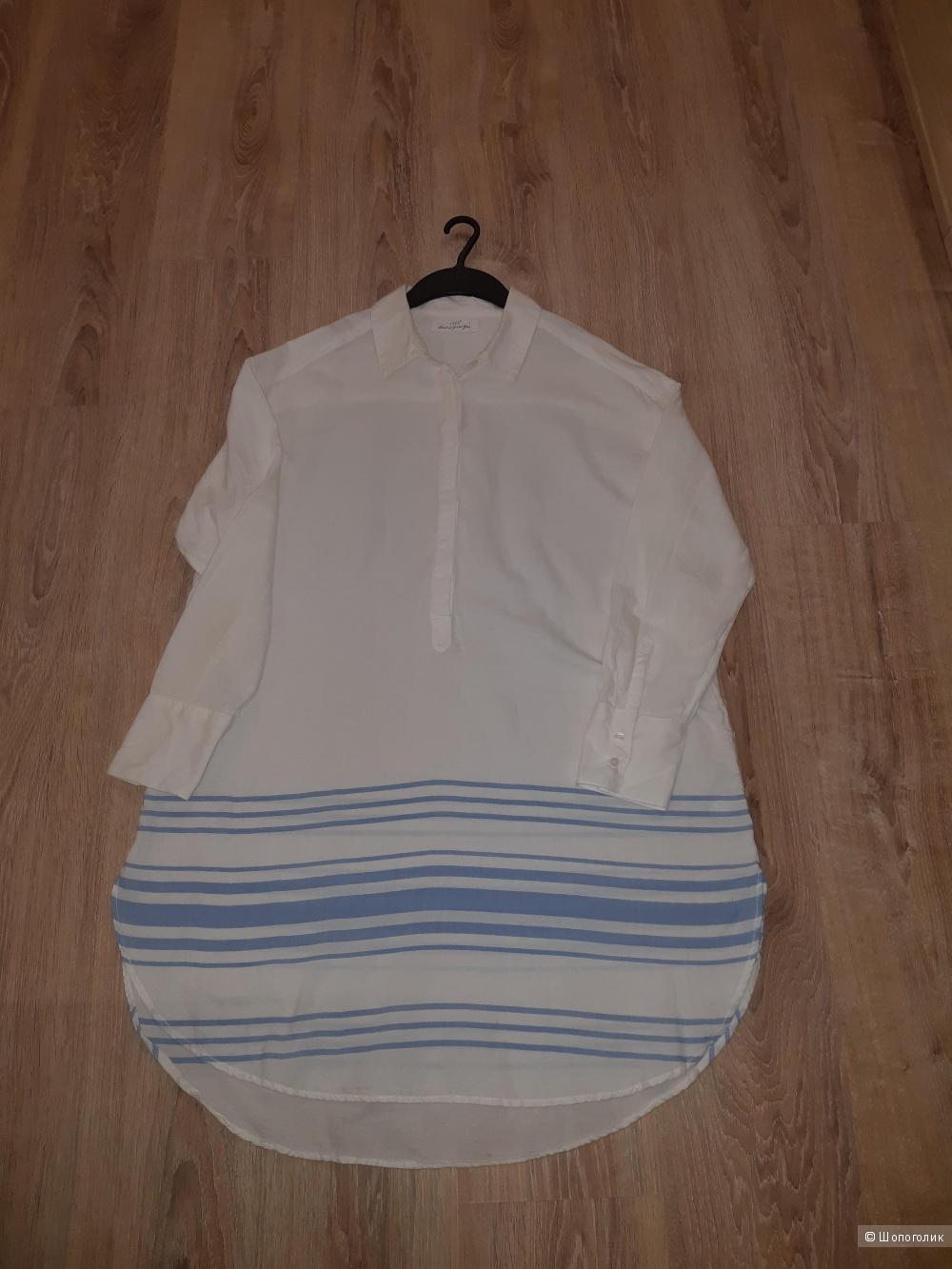 Платье-рубашка hm, размер 48/50+-