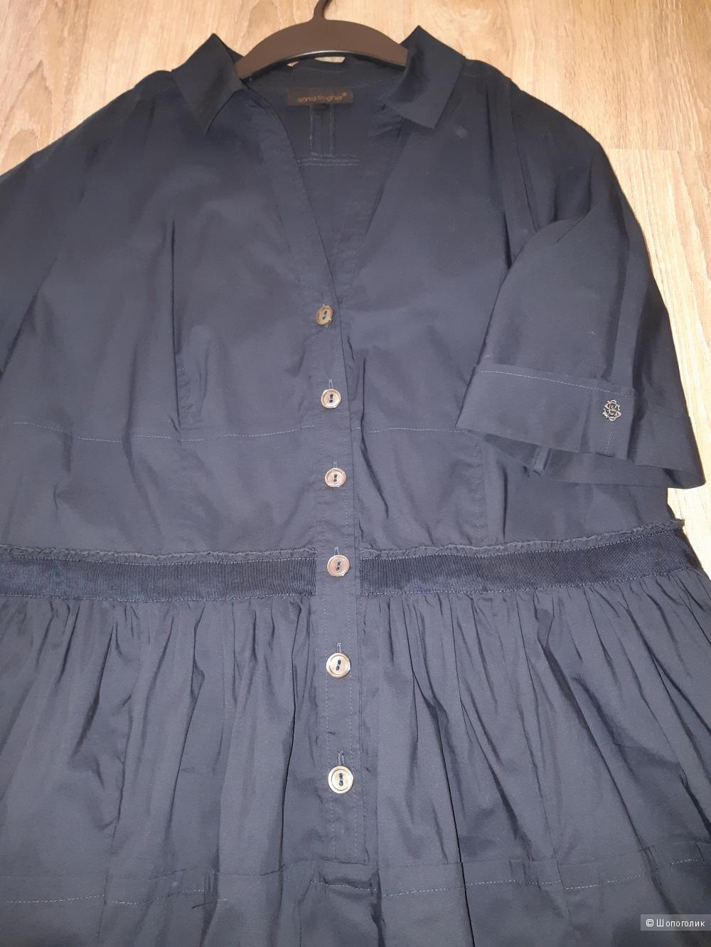 Платье-рубашка sonia bogner, размер 48/50+-