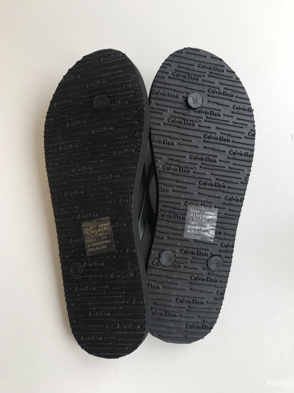 Вьетнамки Calvin Klein, размер US 10
