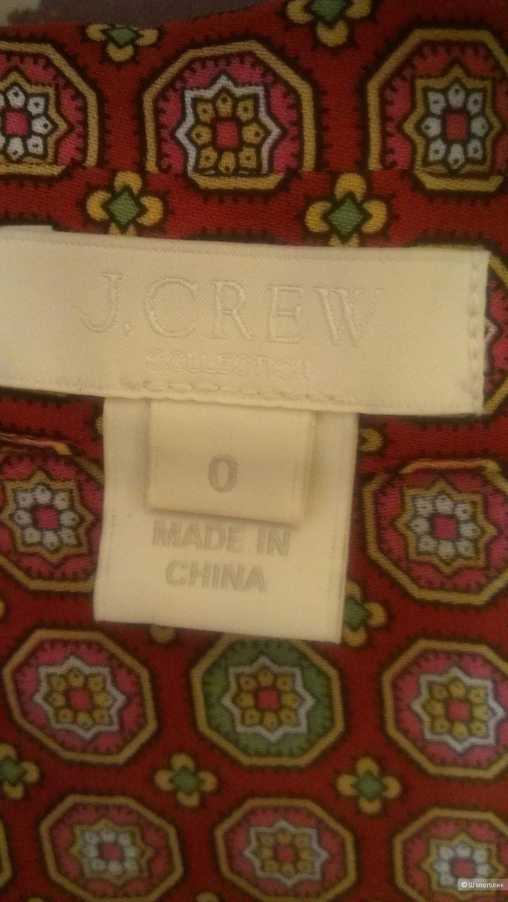 Блузка J Crew размер 0 USA