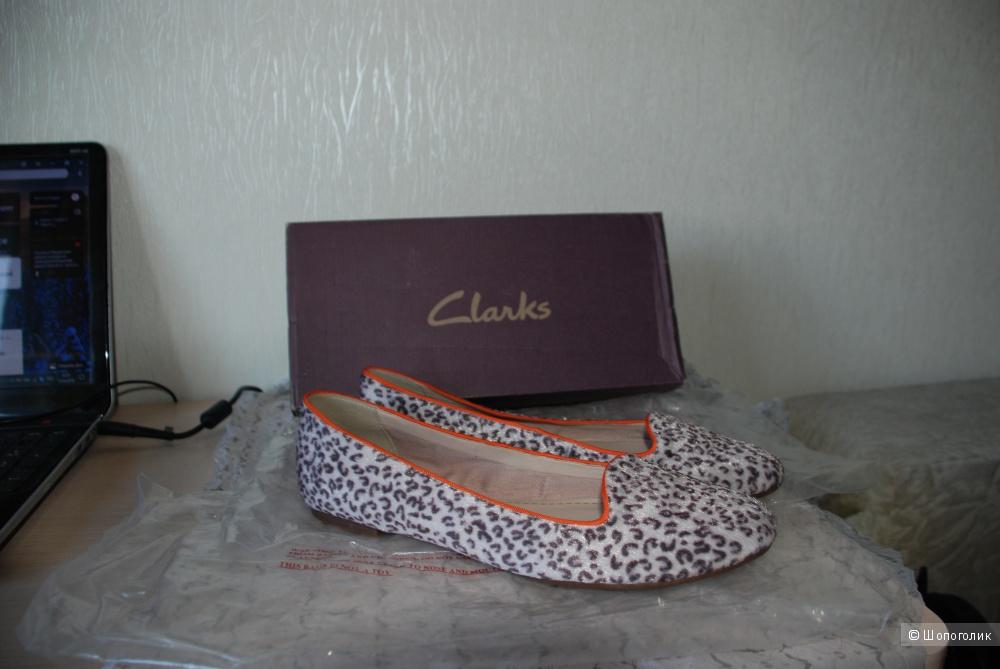 Балетки ф-ма Clarks 42 размер