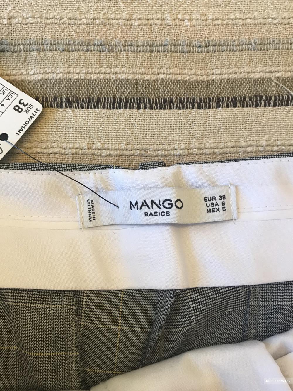 Брюки Mango, размер 38