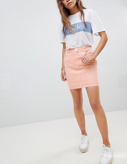 Джинсовая юбка Asos, размер UK 10