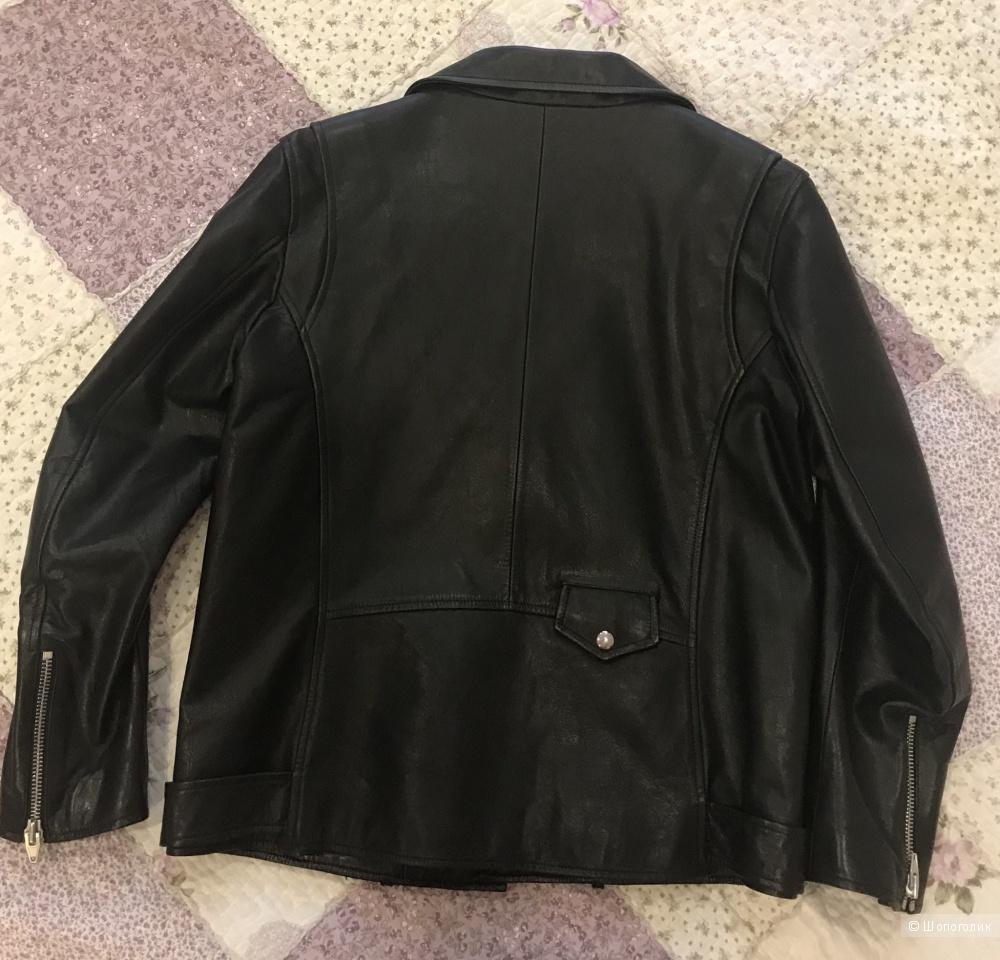Кожаная куртка T by Alexander Wang, размер 8US