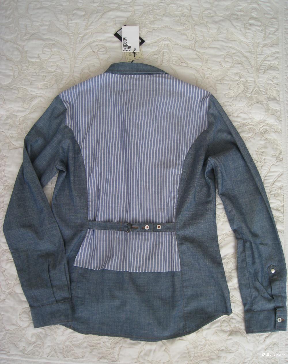 Рубашка женская LOVE MOSCHINO,  46It