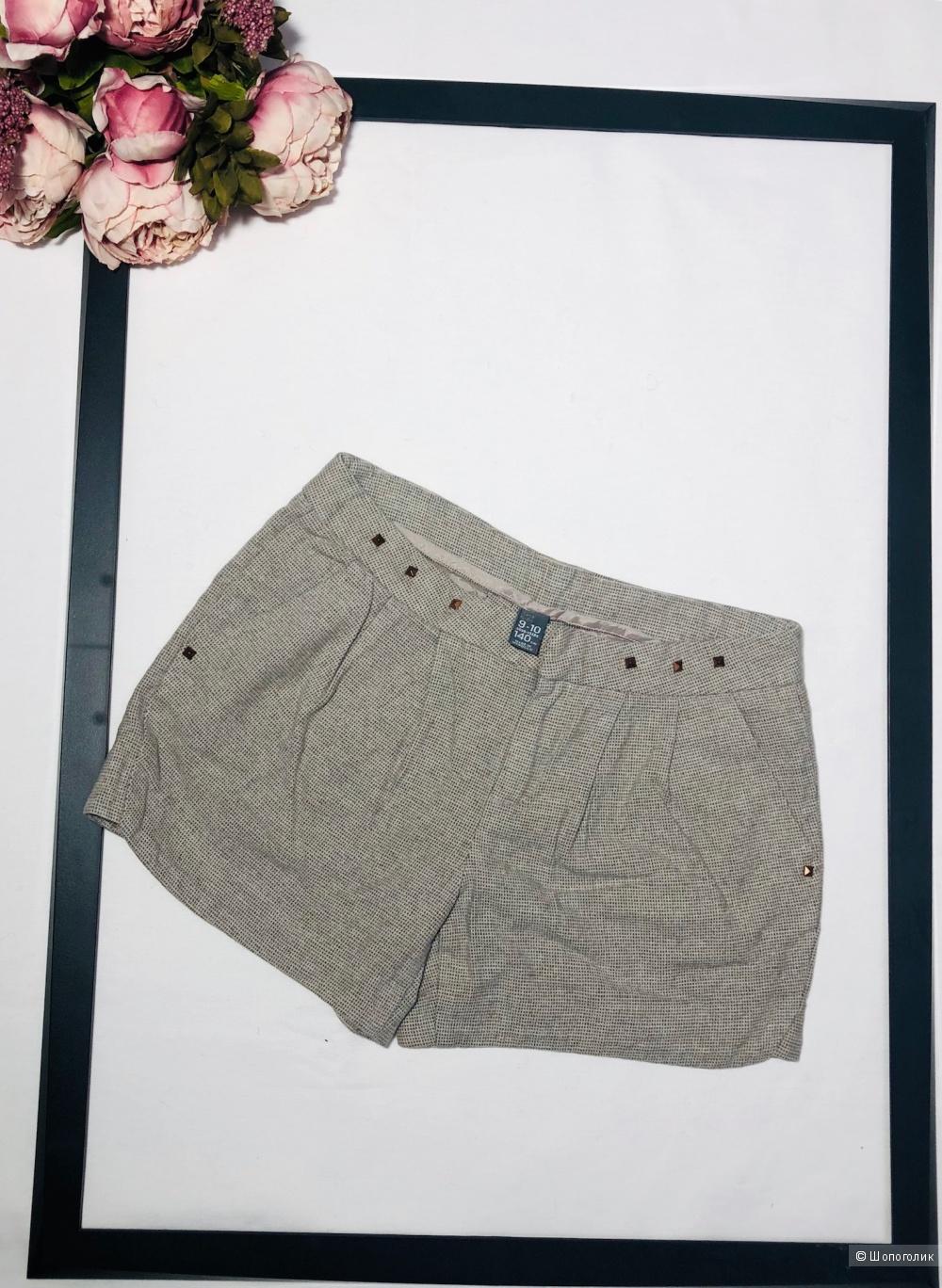 Тканевые шорты Zara рост 140