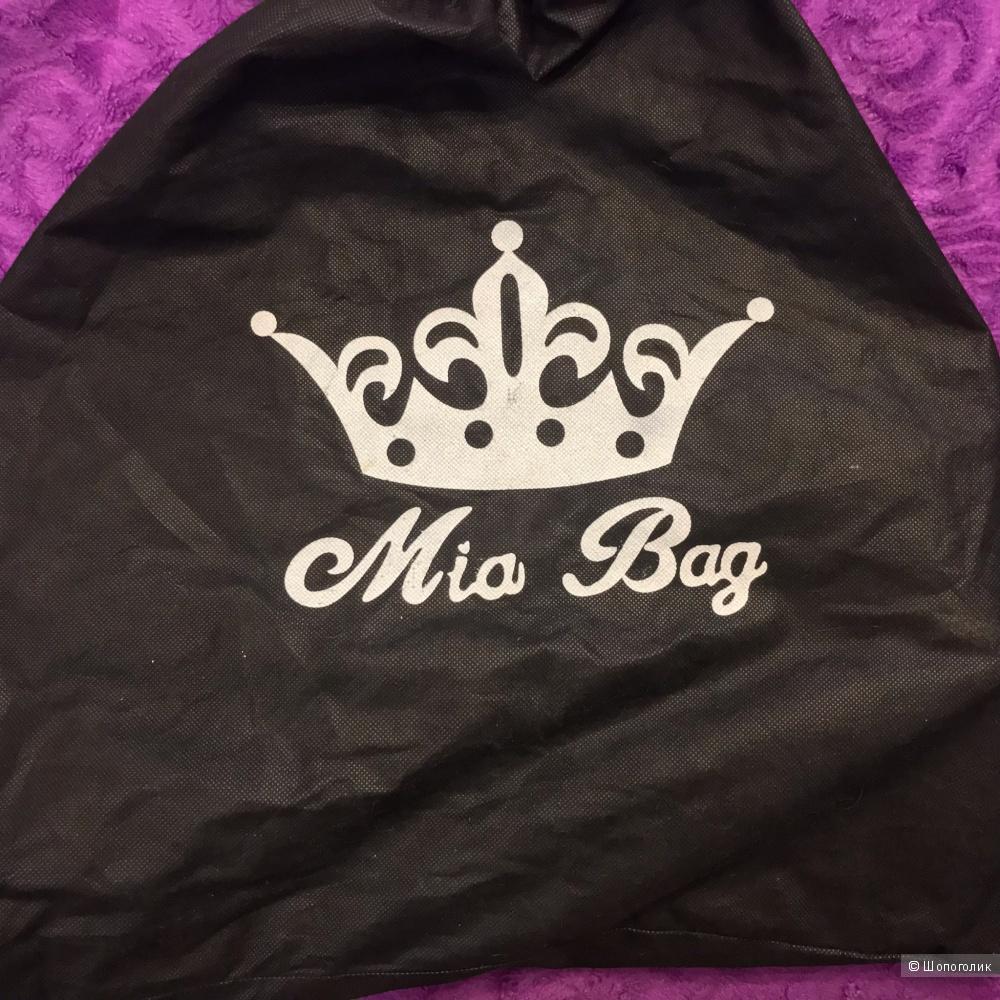 Кожаная сумка бренд MIA-BAGS 37*32*18
