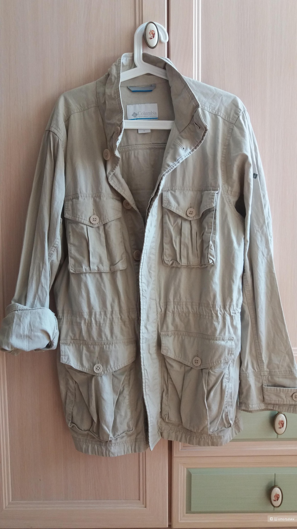 Льняной пиджак- куртка Columbia размер М