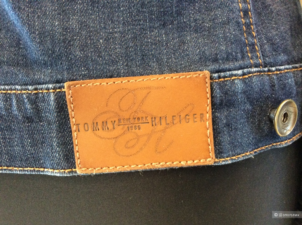 Джинсовая куртка Tommy Hilfiger р.10 (на 42-44-46)