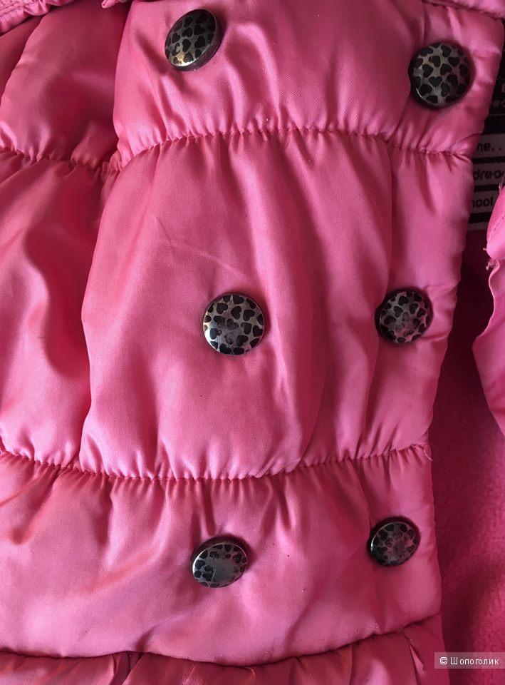 Куртка Minotti на девочку 2-3 года, 90-98 см.