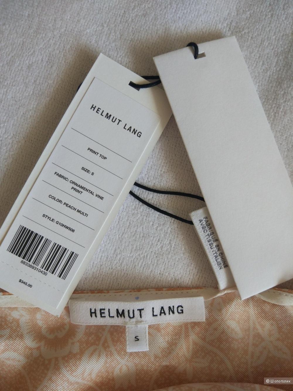 Шелковый топ Helmut Lang, размер S