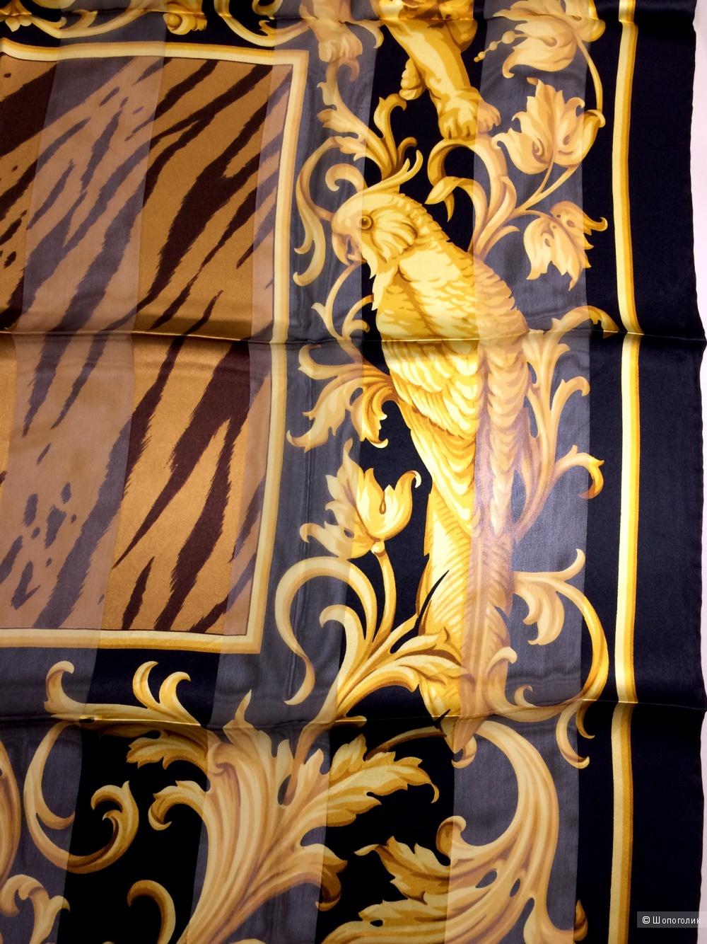 Шелковый платок Valentino 85х85 см.