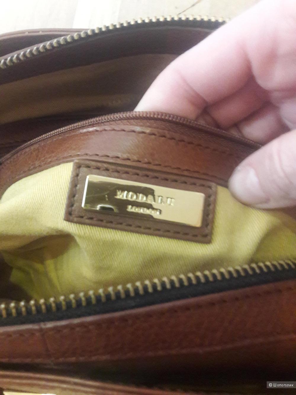 Кожаная сумка Modalu London