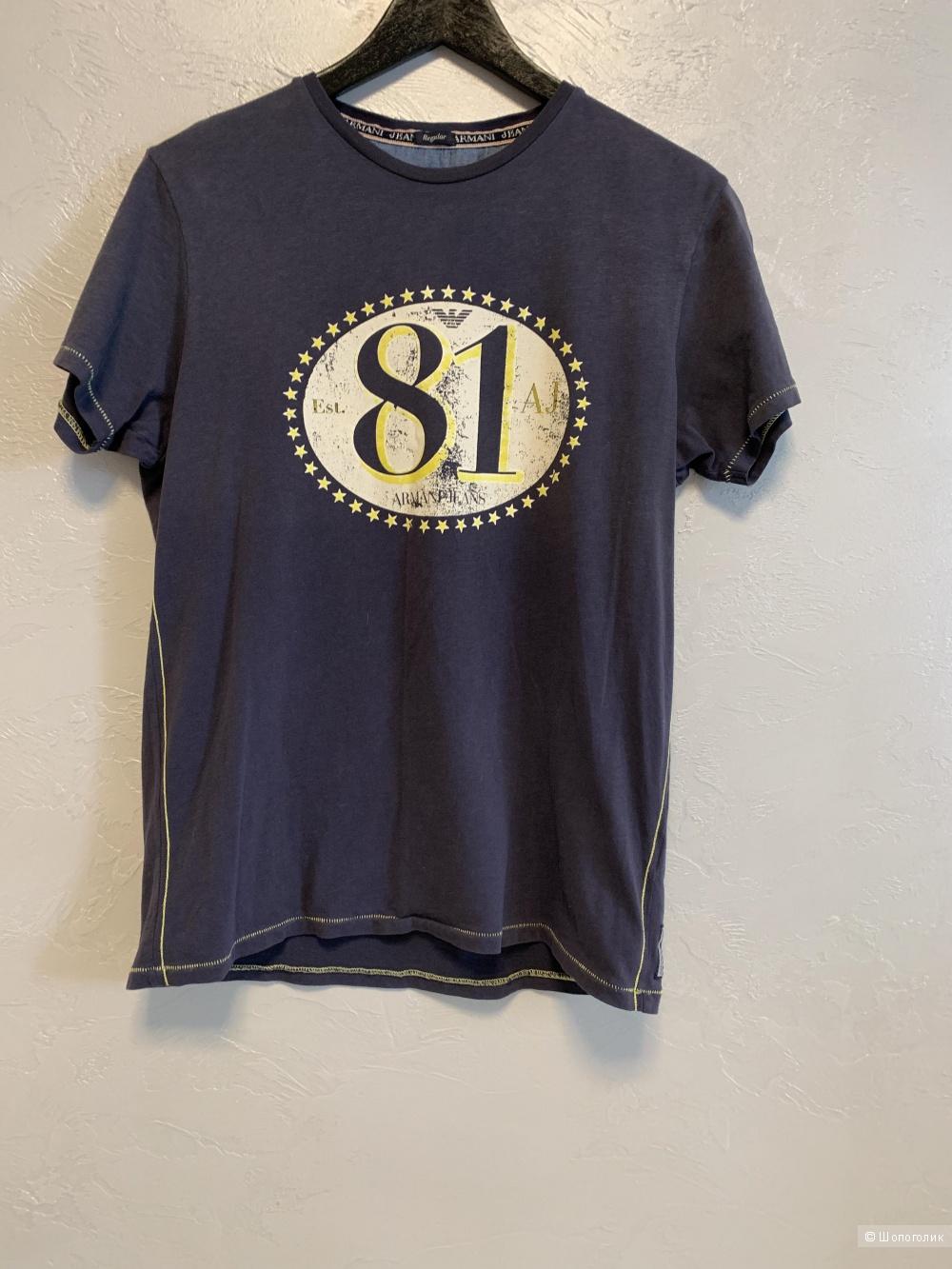Футболка Armani Jeans, размер S-M