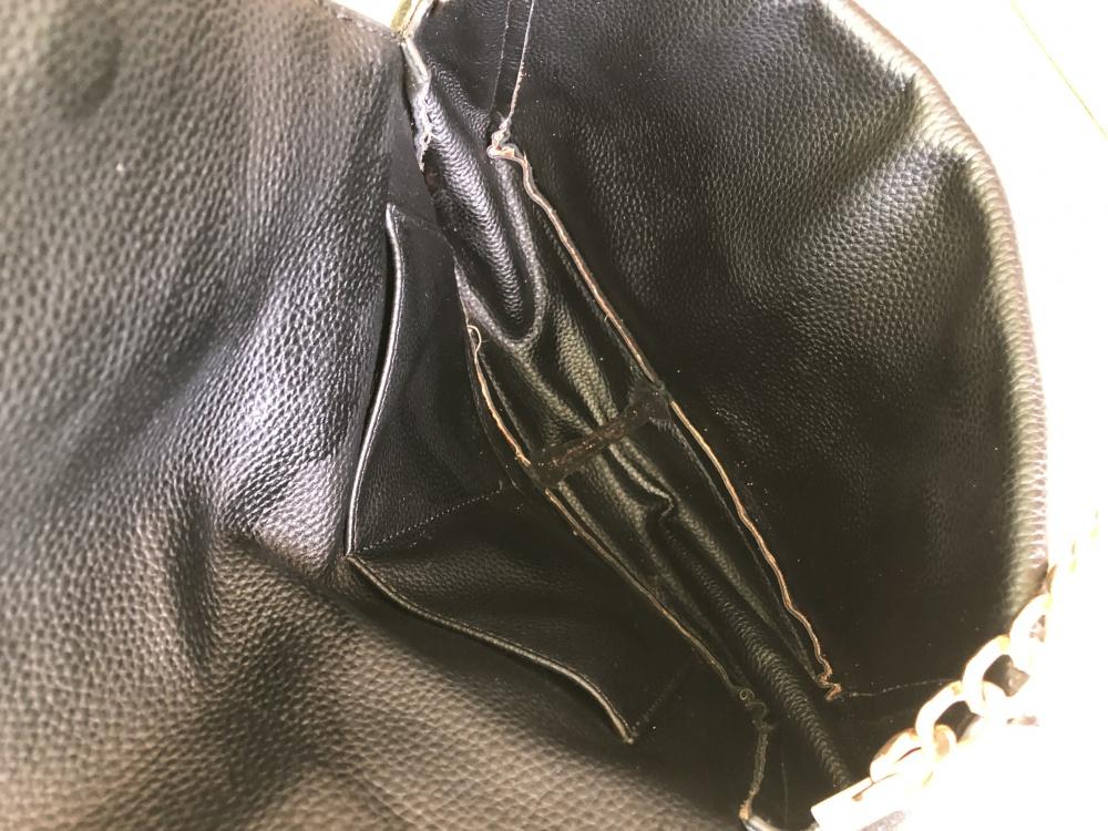 Сумка ноунейм 2 в 1 из натуральной замши чёрного цвета