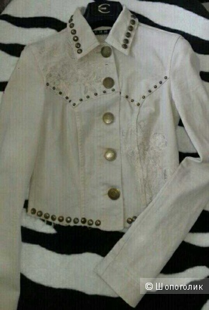 Richmond джинсовая куртка жакет Xs-S