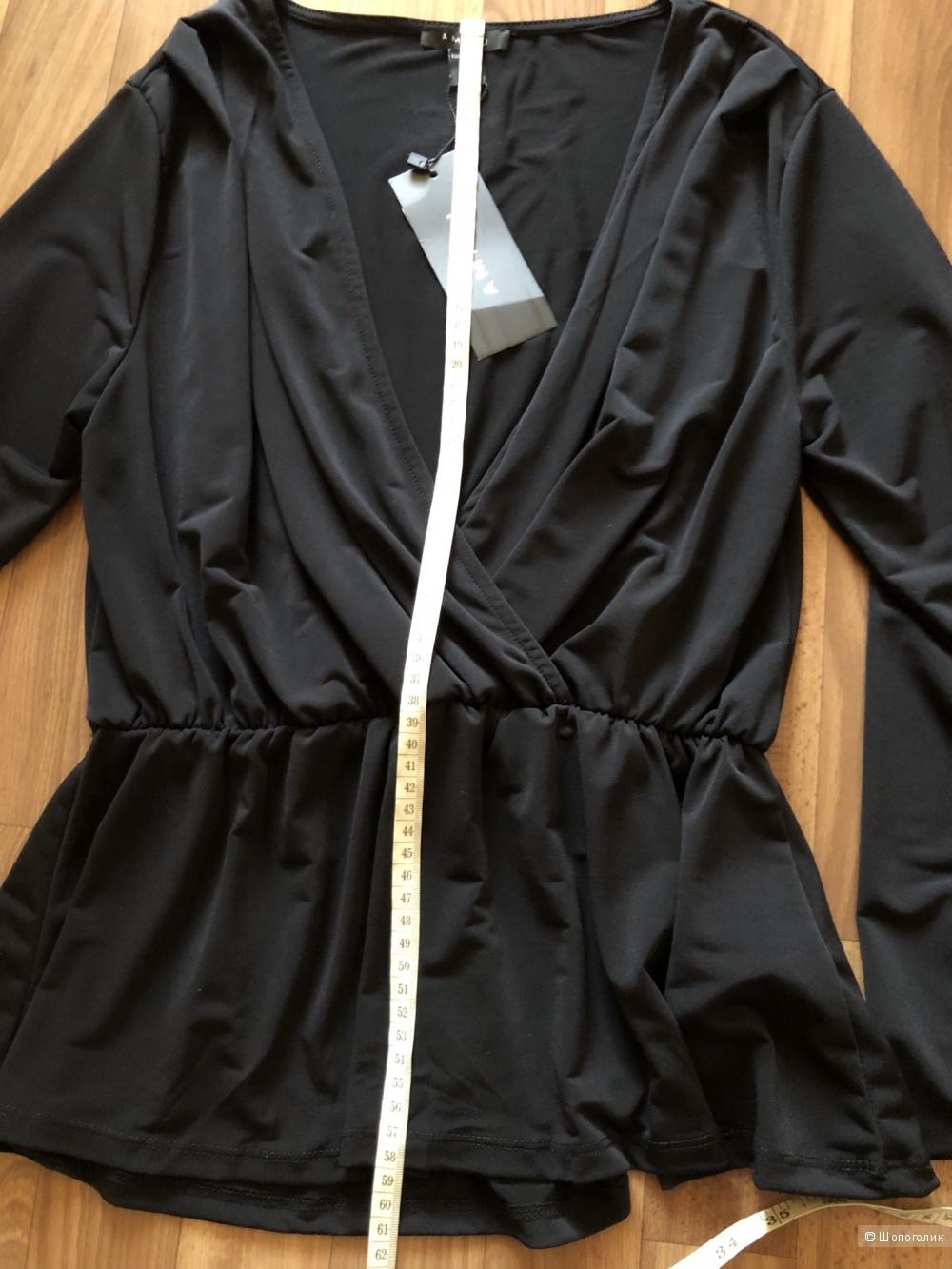 Сет джинсы hm размер 36 и блузка amisu размер м