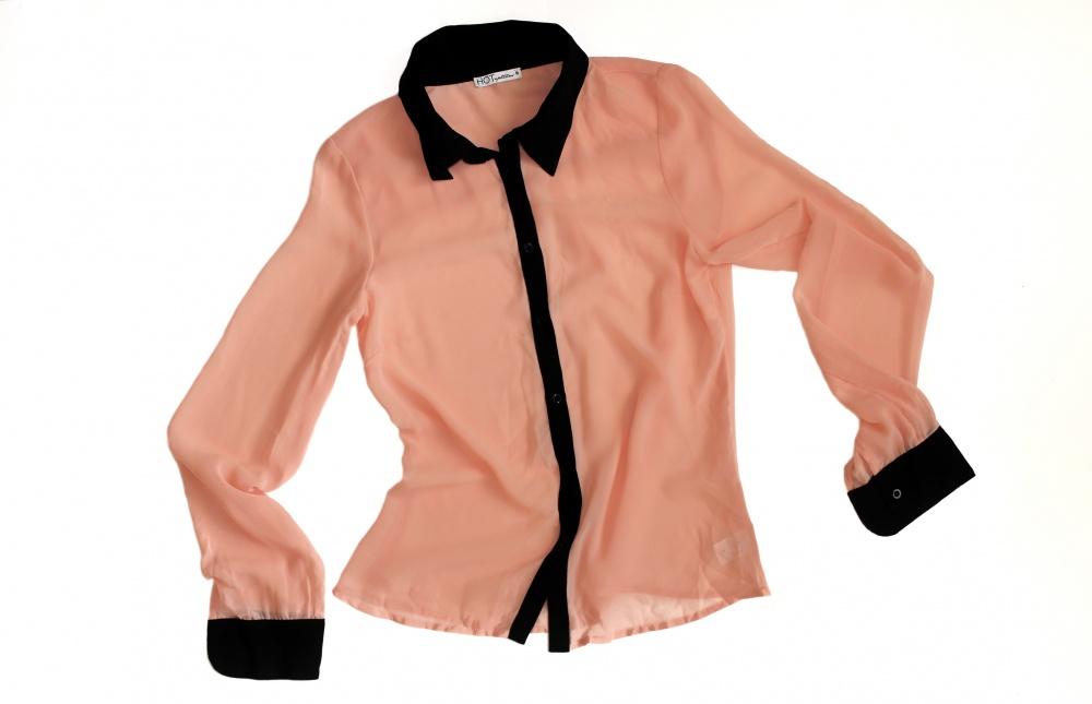 Шифоновая блузка No Name, размер 8 (40-42)