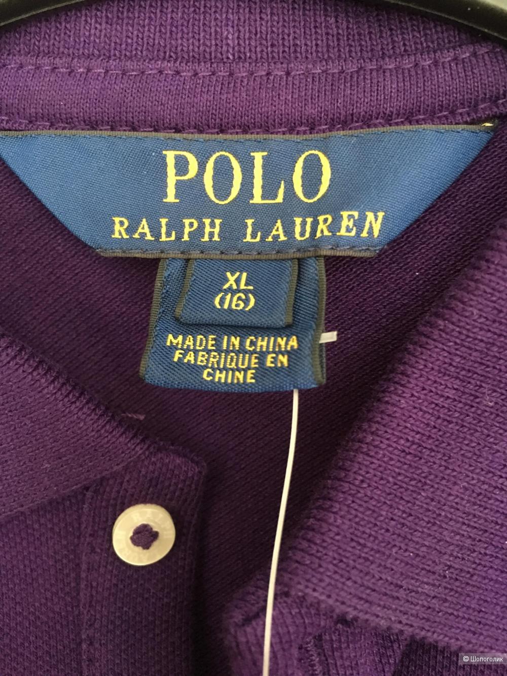 Поло c длинным рукавом Ralph Lauren, 42 размер (silm fit)