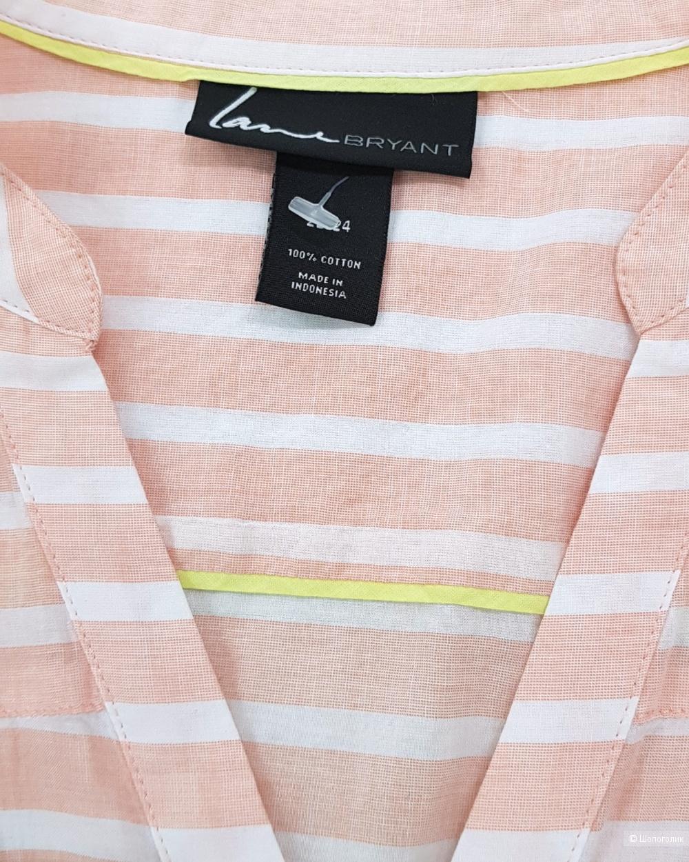 Рубашка. Lane bryant. plus size