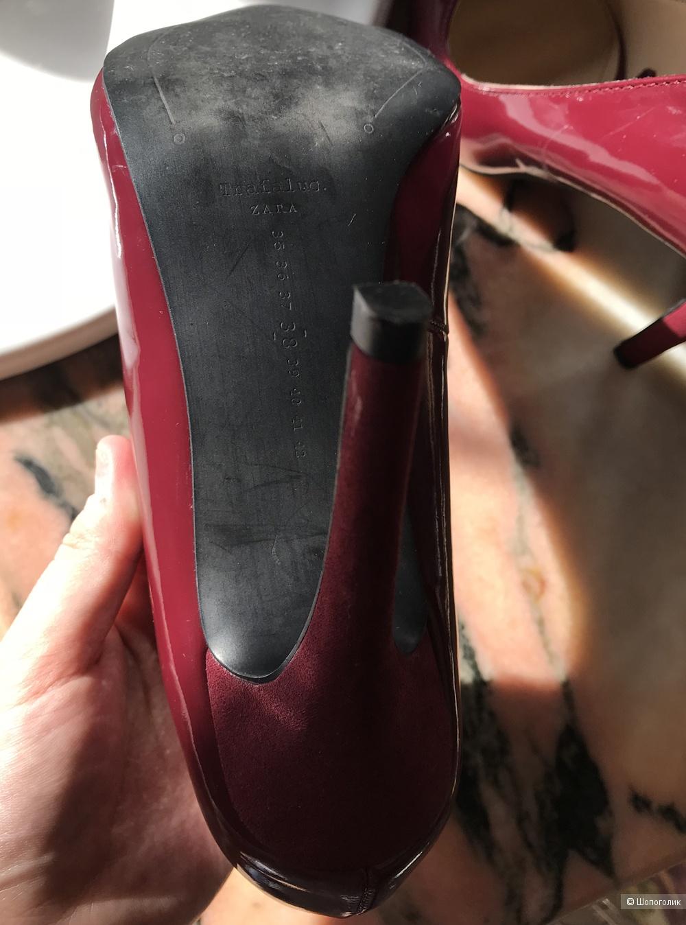 Туфли лодочки ZARA размер 37