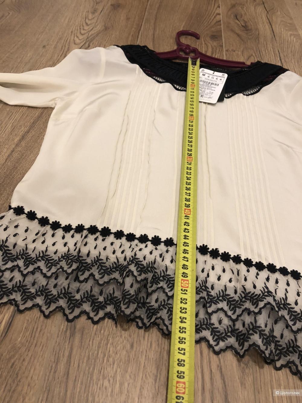 Рубашка Блуза, Zara, размер М