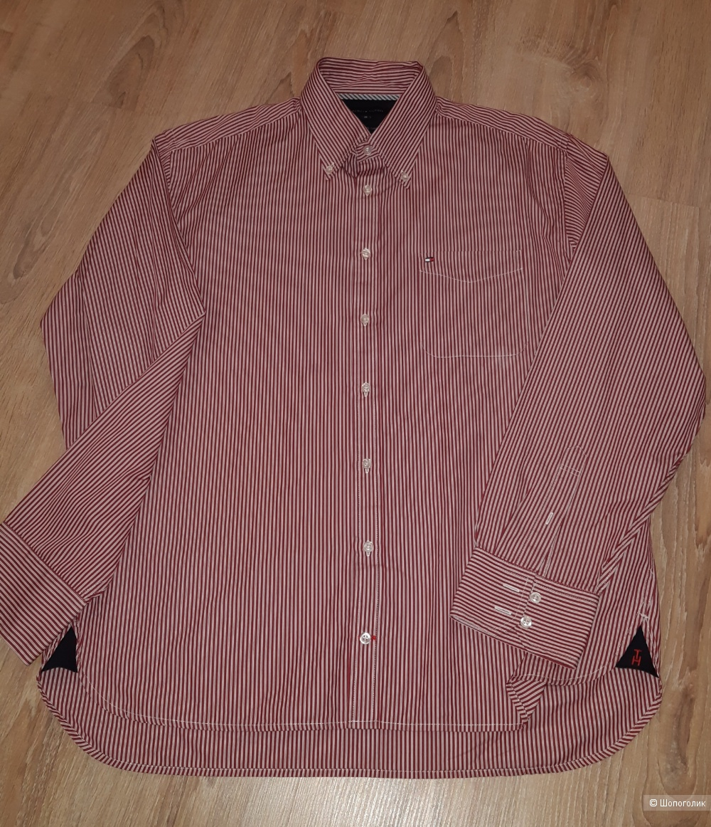 Рубашка мужская tommy hilfiger, размер xl
