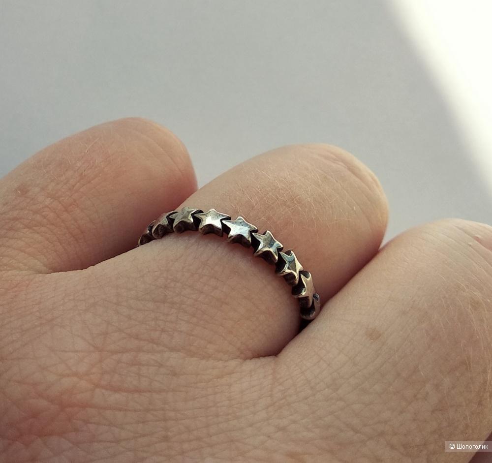 """Кольцо """"Pandora"""", р. 17-18 (серебро 925)"""