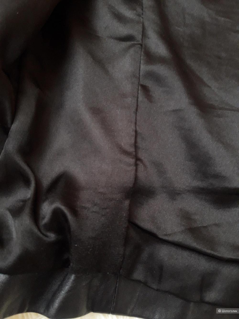 Жакет кожаный, размер 46-48