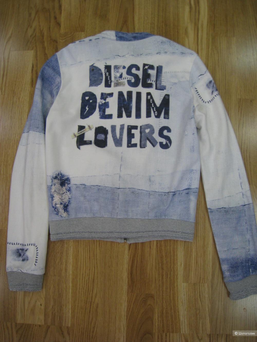 Бомбер хлопок Diesel, 12 лет