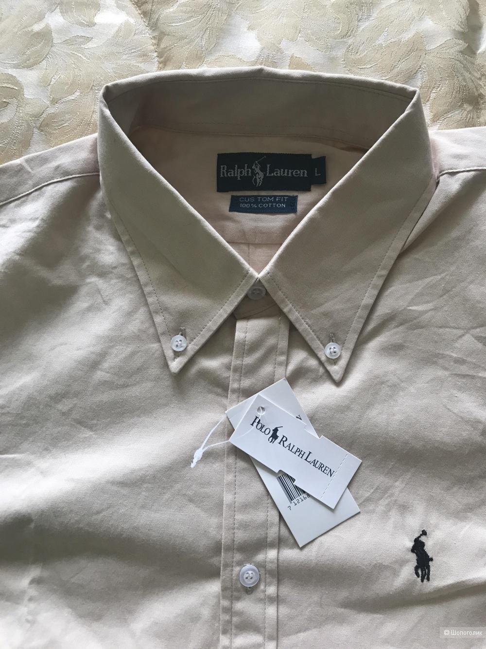 Рубашка мужская RalphLauren, размер L