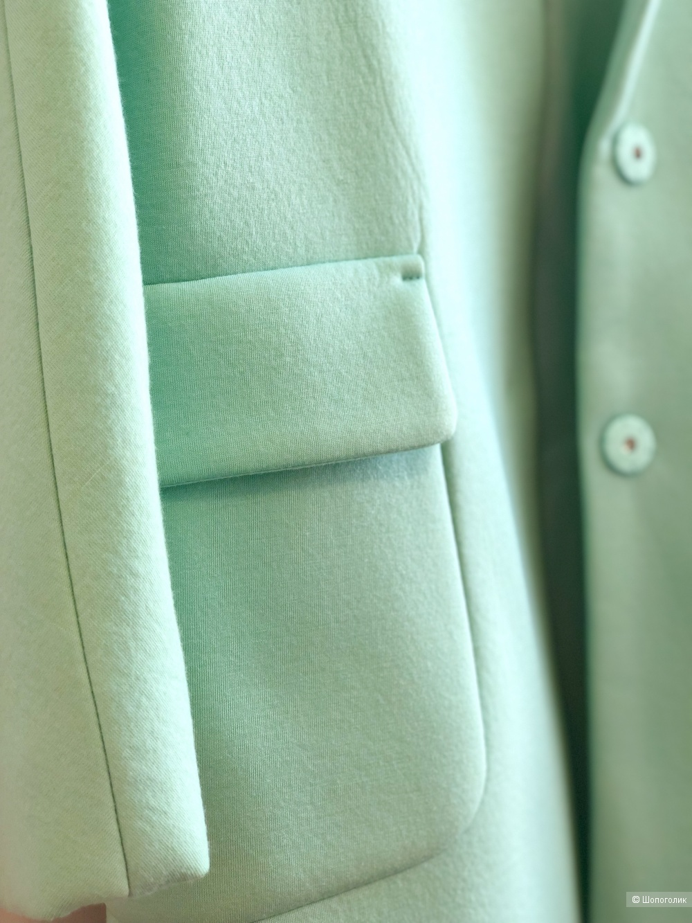 Пальто из тонкого неопрена Lamagie, размер S