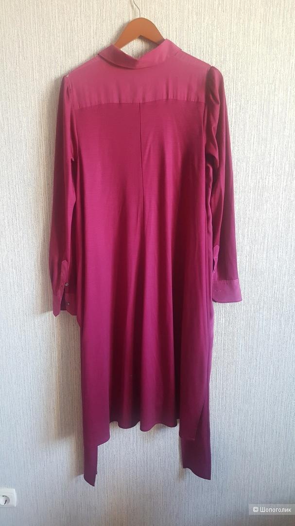 Шелковое платье Sportmax Max Mara, размер М